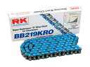 RK 219 BB KRO (BLUE) 98-116L レーシングカート用 Oリング チェーン