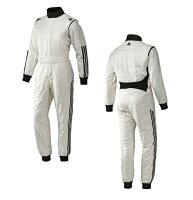 adidas(アディダス)レーシングスーツCLIMACOOLNOMEXSUITWHITE/BLACKFIA8856-2000公認