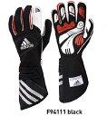 adidas(アディダス)レーシンググローブ adistar GLOVE BLACK(ブラック)FIA8856-2000公認