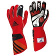adidas(アディダス)レーシンググローブ adistar GLOVE RED/BLACK(レッド ブラック)FIA8856-2000公認