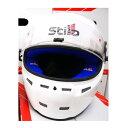 STILO ヘルメット ST5F N CMR グロスホワイト内装色ブルー SNELL CMR2007 レーシングカート用 (AA0713AH4PXX0102) ※本国取り寄せ品納期..