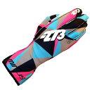 -273 Poly Karting Glove Cyan マイナス273 ポリ レーシングカートグローブ シアン