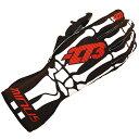 -273 Skeletal Karting Glove Black マイナス273 スケルタル レーシングカートグローブ ブラック