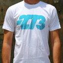-273 Tee Corp Logo コープ ロゴ Cyan シアン Tシャツ