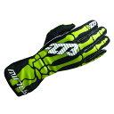 -273 Skeletal Karting Glove Green マイナス273 スケルタル レーシングカートグローブ グリーン