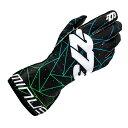 2016-18モデル -273 Poly Evo Black×Green Karting Glove マイナス273 ポリ エボ ブラック×グリーン レーシングカートグローブ