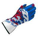 -273 Buzzz Blue×White×Red Karting Glove マイナス273 バズ ブルー×ホワイト×レッド レーシングカートグローブ