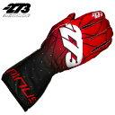 2019NEWカラー -273 Poly EVO Red×Black Glove マイナス273 ポリ エボ レッド×ブラック レーシングカート・走行会用グローブ