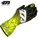 -273 Poly EVO YELLOW×Black Glove マイナス273 ポリ エボ イエロー×ブラック レーシングカート・走行会用グローブ