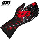 -273 Zero EVO Black×Red×White Glove マイナス273 ゼロ エボ ブラック×レッド×ホワイト レーシングカート・走行会用グローブ