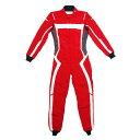 monocolle Marina コラボスーツ FIA8856-2000 公認 4輪レーシングスーツ カラー 005 RED monocolle special 基本受注生産品(一部即納..