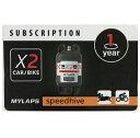 MYLAPS X2専用 ライセンスカード 1年間有効 for CAR & BIKE用 1点