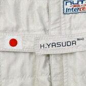 レーシングスーツ 腰ベルト 刺繍 ネーム入れ(名入れ) 施工 「ネーム」&「血液型」&「国旗」