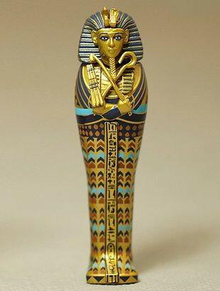 置物 ファラオの棺桶 古代エジプト レプリカ ミニチュア