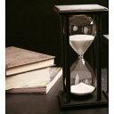 砂時計 60分計 木製枠 アンティーク風 (白)