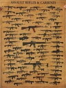 ポスター ビンテージ風 世界のライフル大全集 71×51.5cm