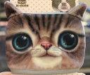 綿マスク ネコ顔 リアル 2種類セット (Aセット) 【送料無料】