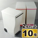 kcud20 クード スリムペダル 2個セット ゴミ箱 ごみ箱 ダストボックス ふた付き おしゃれ 分別 屋外 45L可ゴミ箱 45リットル可ゴミ箱 スリムゴミ箱 キッチンゴミ箱 インテリア雑貨 北欧テイスト リビングゴミ箱 かわいいゴミ箱 デザインゴミ箱 生ごみ オムツ 岩谷マテリアル