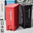 日本製 トラッシュポット ペダルペール40L ゴミ箱 ごみ箱 ダストボックス ふた付き おしゃれ 分別ゴミ箱 屋外ゴミ箱 45L可ゴミ箱 45リットル可ゴミ箱 スリムゴミ箱 キッチンゴミ箱 インテリア雑貨 北欧 リビングゴミ箱 かわいいゴミ箱 デザインゴミ箱 生ごみ オムツ 平和工業