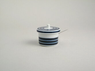 Condiments accessory series Arita Porcelain LAB table pieces (with a spoonful) and Koma muscle (Indigo) arita aritayaki / / Christmas / birthday gifts / gifts / celebrations