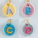 【送料無料】【楽ギフ_包装】Embroidery Necklace(エンブロイダリーネックレス)コトダマ 〈A,B,C,D〉
