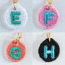 【送料無料】【楽ギフ_包装】Embroidery Necklace(エンブロイダリーネックレス)コトダマ 〈E,F,G,H〉