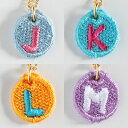 【送料無料】【楽ギフ_包装】Embroidery Necklace(エンブロイダリーネックレス)コトダマ 〈J,K,L,M〉
