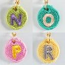 【送料無料】【楽ギフ_包装】Embroidery Necklace(エンブロイダリーネックレス)コトダマ 〈N,O,P,R〉