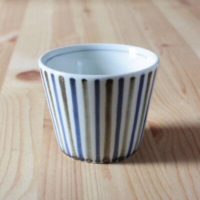 砥部焼 フリーカップ (そばちょこ)鉄ゴス線の商品画像