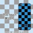 PunkChecks(ブルー)-iPodtouch5ケース