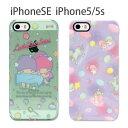 iPhone SE iPhone5s iPhone5 ケース サンリオ キキ&ララ  スマホケース アイフォンse iphonese カバー キャラクター かわいい おしゃれ