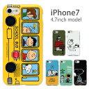 スマホケース スヌーピー iPhone7 用 ソフトケース スマホケース iPhone7ケース アイフォン7 ケース キャラクター グッズ かわいい おしゃれ