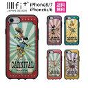 ディズニー IIIIfit イーフィット iPhone8 i...