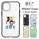 IIIIfit ディズニー iPhone12 mini ハードケース ピクサー スマホケース ケース キャラクター ミッキー ドナルド カバー アイフォン iP..
