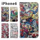 MARVEL・iPhone6s/6対応フリップケース・mv-54【スパイダーマン/アメコミ/クラッシ