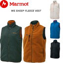 Marmot マーモット フリース レディース リバーシブル ベスト WS SHEEP FLEECE VEST 全4色 M/L TOWOJL39 シープ フリースベスト 防寒 ボア もこもこ ブランド おしゃれ アウトドア 前開き ノースリーブ ウェア ナイロン 送料無料