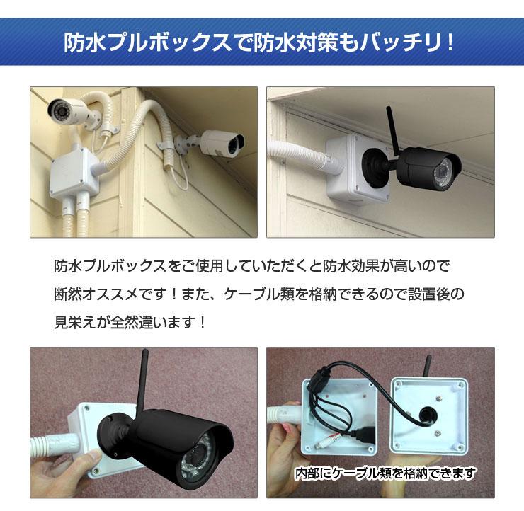 【防水プルボックス】 防犯カメラ取付 電気設備...の紹介画像2