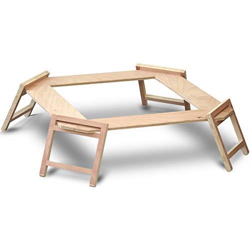 FIELDOOR パネル式 木製囲炉裏テーブル