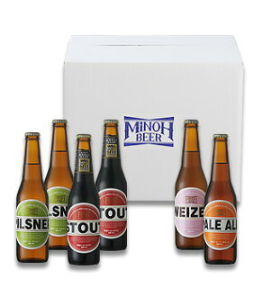 Set with four kinds of Minoh beer 12