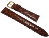 豪华的蜥蜴!廉价出售精工手表带带。精工手表带16毫米深褐色蜥蜴DX05的R - 1[16mm セイコー 時計バンド   DX05 リザード こげ茶 R-1 02P06may13]