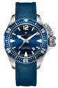 腕時計 ハミルトン HAMILTONカーキ ネイビー オープンウォーター ダイバーズウォッチ H77705345 300m防水 正規品 02P01Oct16