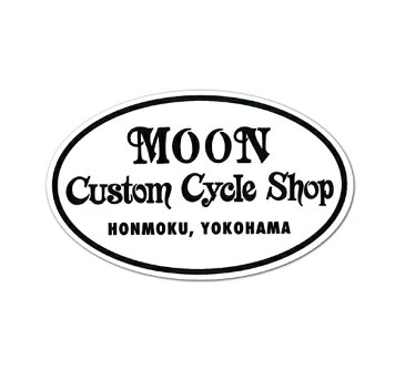 MOON Custom Cycle Shop ステッカー