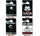 Felix The Cat parking gone mitt
