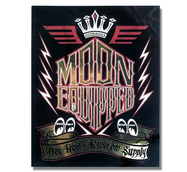 MOON Equipped (ムーン イクイップド) Lightning Sticker