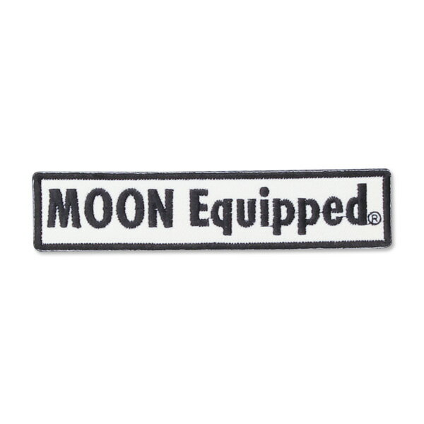 MOON Equipped (ムーン イクイップド) ロゴ スクエア パッチ