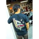 ムーンアイズ MOON Automotive Garage Tシャツ