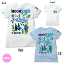 MOONEYES x Mookie レディース Paradise of Pacific Tシャツ