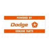 ホットロッド ステッカー POWERED BY Dodge
