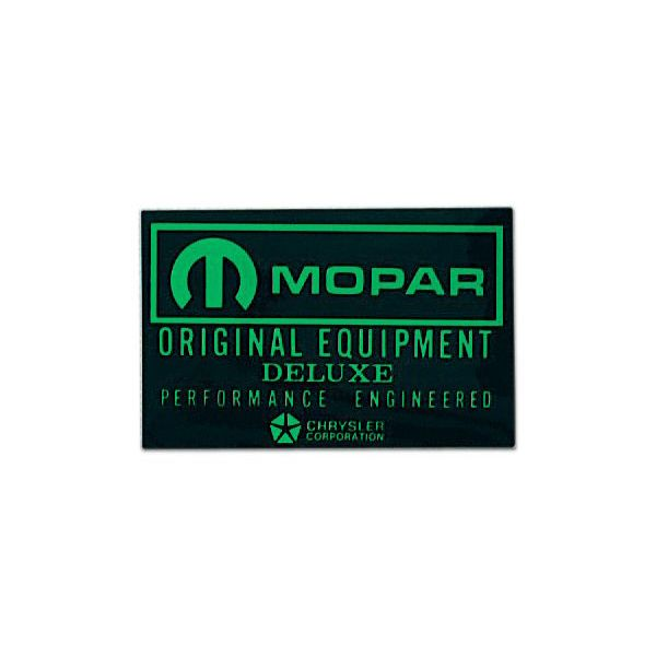 ホットロッド ステッカー MOPAR ORIGINAL EQUIPMENT