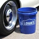 LOWES Bucket ローズ バケツ (プラスティック バケツ) 5ガロン